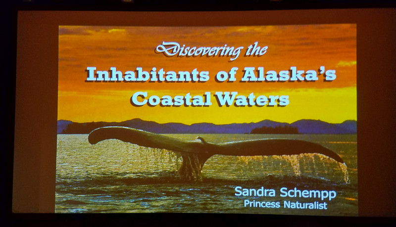 Educational Seminar on Alaska's Coastal Waters on the Star Princess.