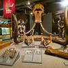 Historical exhibit at the University of Alaska, Fairbanks.
