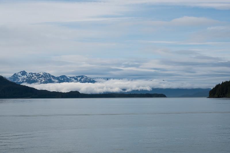 Natural beauty of Alaska as seen in Auke Bay, Juneau, Alaska..