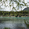 River scenery in the Cooper Landing area of Alaska.