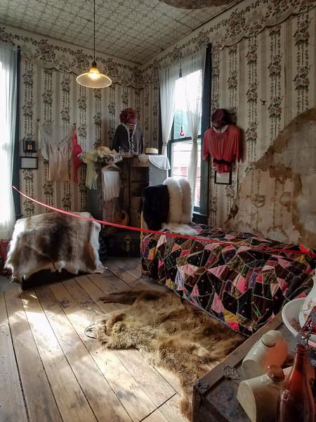 Working girl's room in the Red Onion Brothel, Skagway, Alaska.