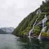 Waterways and Waterfalls around Ketchikan, Alaska.