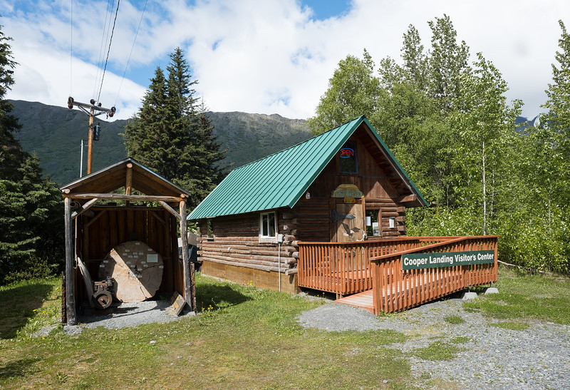 Cooper Landing Visitor Center, Alaska.