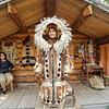Athabaskan attire on display, Fairbanks, Alaska.