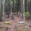 Burial sites in Cooper Landing Cemetery, Cooper Landing, Alaska.
