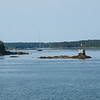 Castine, Maine Harbor area.