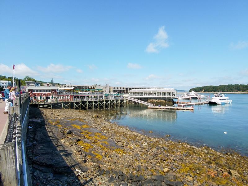 Bar Harbor Maine Waterfront.