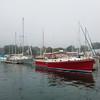 Harbor area of Belfast, Maine.