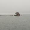 House on a tiny island outside Rockland, Maine.