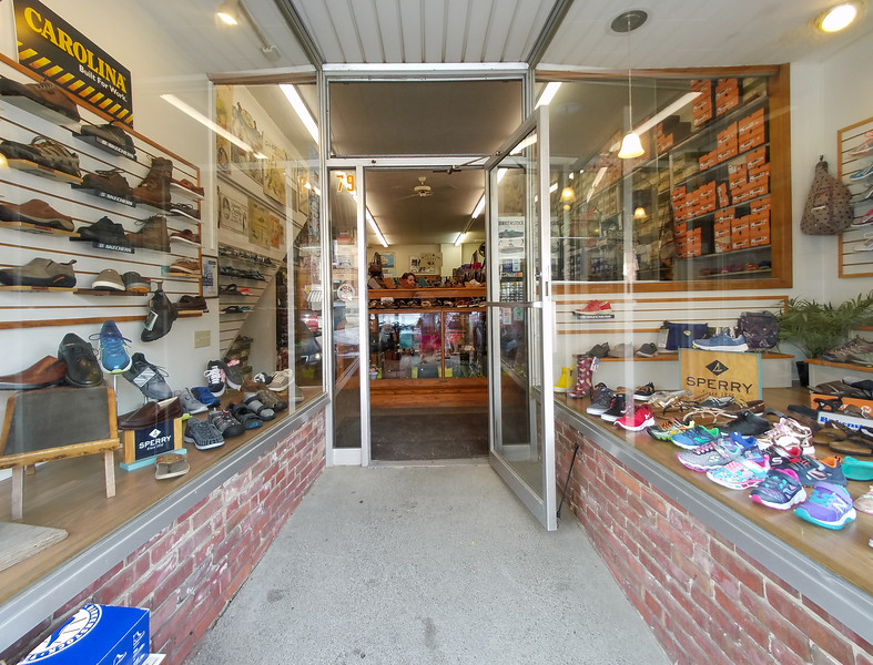Oldest Shoe Store in the USA, Belfast, Maine.