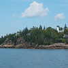 Dice Head Lighthouse in Egomogon Reach, outside Castine, enroute to Belfast, Maine.