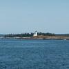 Hendrick's Head Lighthouse outside Bath, Maine.