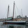 Historic Schooners docked in Belfast, Maine.