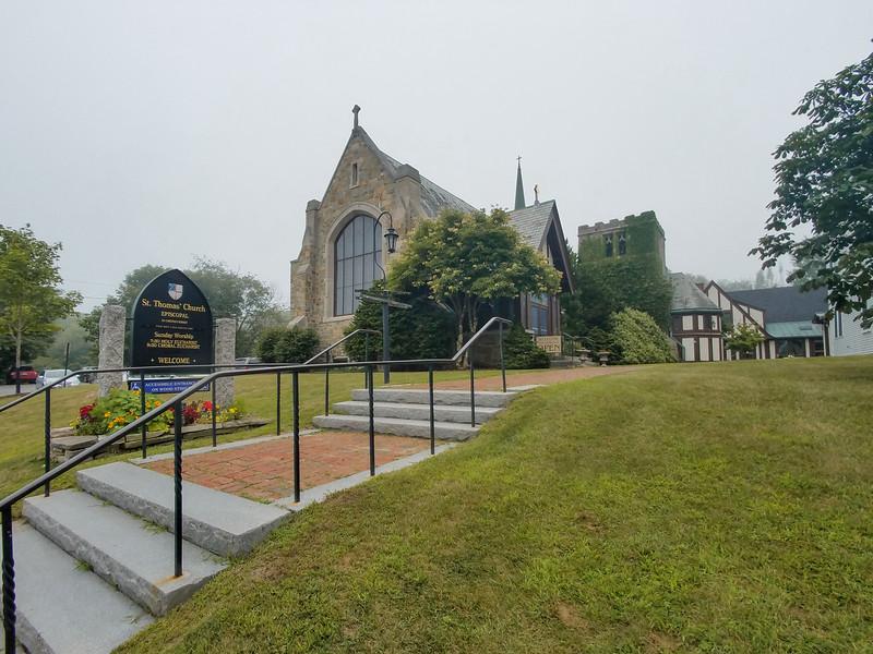 Saint Thomas Historic Church, Camden, Maine.