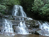 Laurel Falls in Smoky Mountains National Park.
