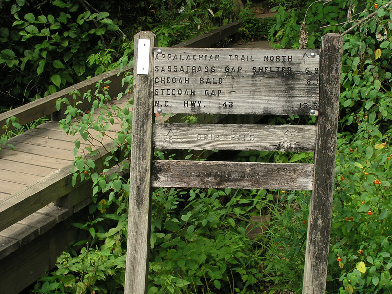You can join the Appalachian Trial North at the Nantahala Outdoor Center.