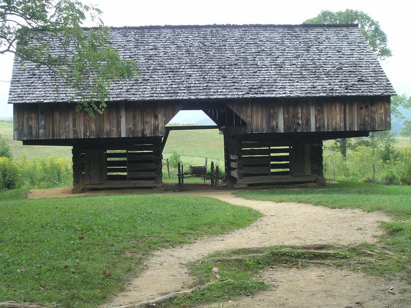 A farmer's barn in Cades Cove, NC.