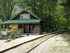 The Nantahala Center Depot for the Smokey Mountain Railroad.