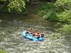 River rafting on the Nantahala River.
