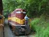 Take a ride on the Smoky Mountain Railroad.