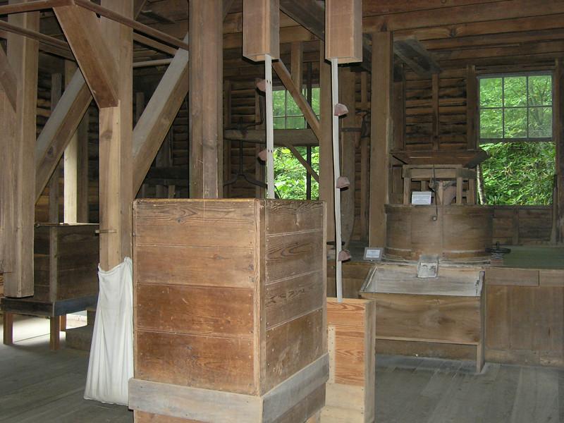 Inside Mingus Mill.