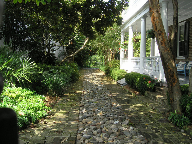 Beautiful homes and gardens in Charleston's Historic District.