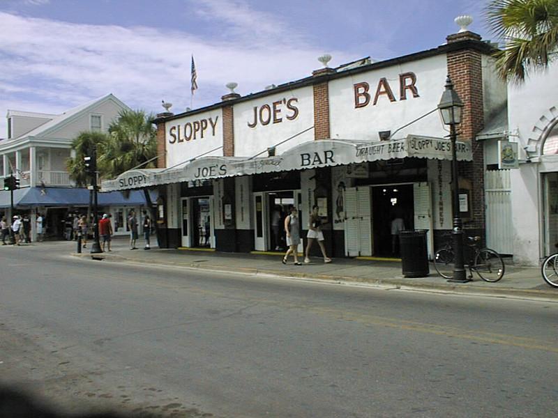 Sloppy Joe's Bar in Key West, Florida.