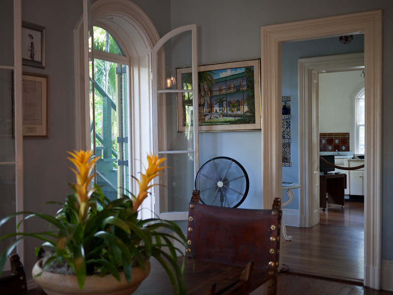Ernest Hemingway's Key West home.