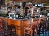 Inside the Green Parrot Bar, Key West, Florida.
