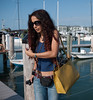 Key West tourist at the docks.