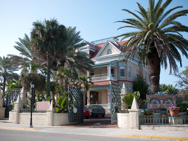 Southern most homes in Key West, Florida.