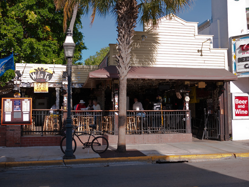 Willie T's Dive on Duval Street, Key West, Florida.
