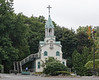 Small Church on the grounds of L'Oratoire Saint-Joseph du Mount-Royal, Montreal, Quebec, Canada.