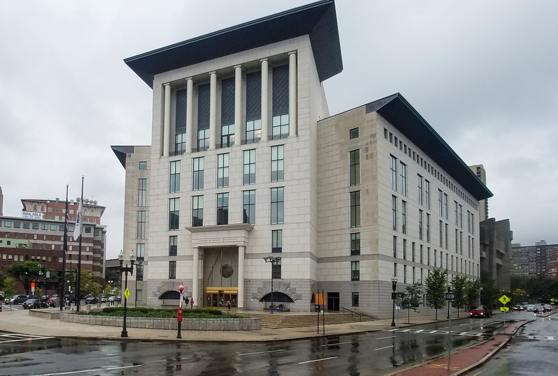 Edward W. Brooke Courthouse, Boston, Massechusetts.