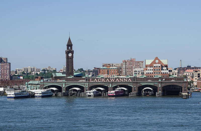 New York Waterway Tours from the Old Lackawanna Terminal.