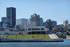 Waterfront Public Area in Montreal, Quebec, Canada.