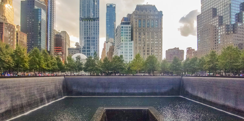 World Trade Center Memorial, NYC, NY.