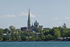 Another magnificent church at the Montreal Waterfront, Quebec, Canada.