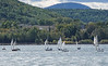 Sailboat competition in Gaspe, Quebec, Canada.
