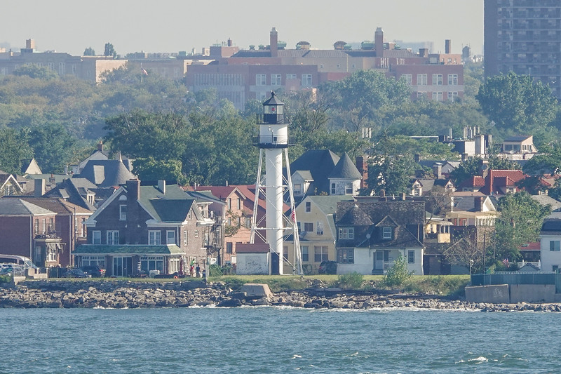 Lighthouse at the NY Harbor Entrance.