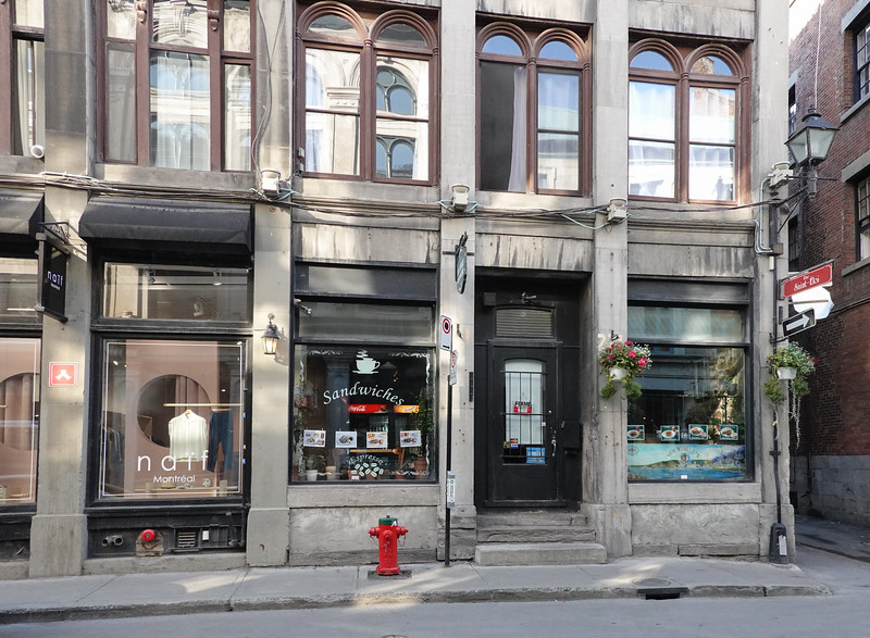 Entering the Food District, Montreal, Quebec, Canada.