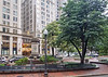 Post Office Square and George Thorndike Angell Memorial.  Boston, Massachusetts.