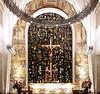 Inside a Chapel at L'Oratoire Saint-Joseph du Mont-Royal, Montreal, Quebec, Canada.