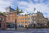 Streets and shopping district adjacent the Old Port of Quebec, Quebec, Canada.