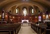 Chapel inside L'Oratoire Saint-Joseph du Mont-Royal, Montreal, Quebec, Canada.