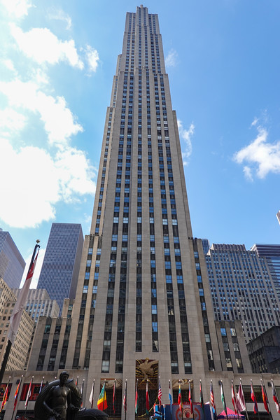 Rockefeller Center Tower, NYC, NY.