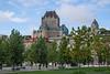 Chateau Frontenac, a landmark in Quebec City, Quebec, Canada.