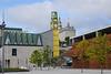 Clocktower at the Port of Quebec, Quebec, Canada.