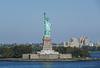Statue of Liberty in NYC Harbor.