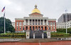 Massachusetts State House in Boston, Mass. USA.